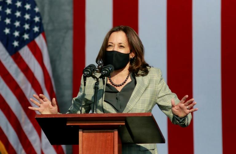 US Senator Kamala Harris, the Democratic vice presidential nominee, will debate Vice President Mike Pence on October 7, 2020, with a pane of plexiglass between them to help prevent the spread of coronavirus