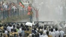 Bengal BJP workers clash with police during 'march to Nabanna'; party condemns 'barbaric treatment' of cadre