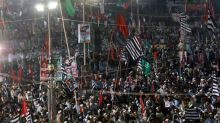 Pakistan opposition holds mass rally calling for PM Khan to go
