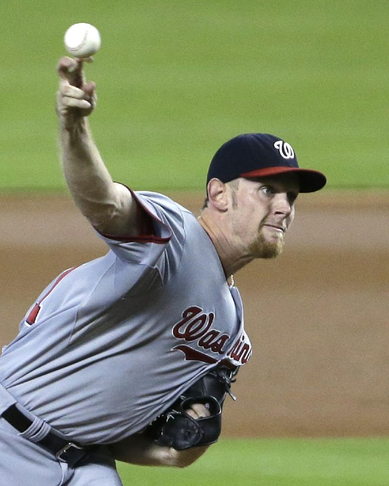 Nats ace Strasburg scratched from start vs Phils
