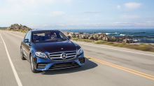 The New Mercedes Benz E-Class Shows Off New Tech