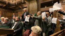 Speaker John Bercow grabbed in Commons chaos as MPs stage 'silenced' protest at Parliament suspension