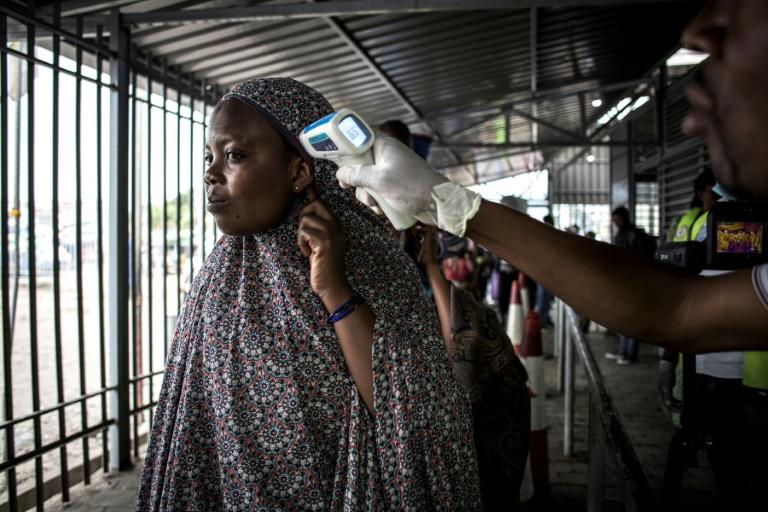 """The WHO has declared the Ebola epidemic a """"public health emergency of international concern"""" (AFP Photo/JOHN WESSELS)"""