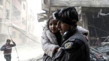 279 White Helmets leave Jordan to resettle in West