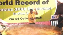 Beating Sanjeev Kapoor, Nagpur Chef Cooks 3,000 Kg Khichdi to Set New World Record