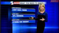 Laura's Weather Webcast Jan. 28th