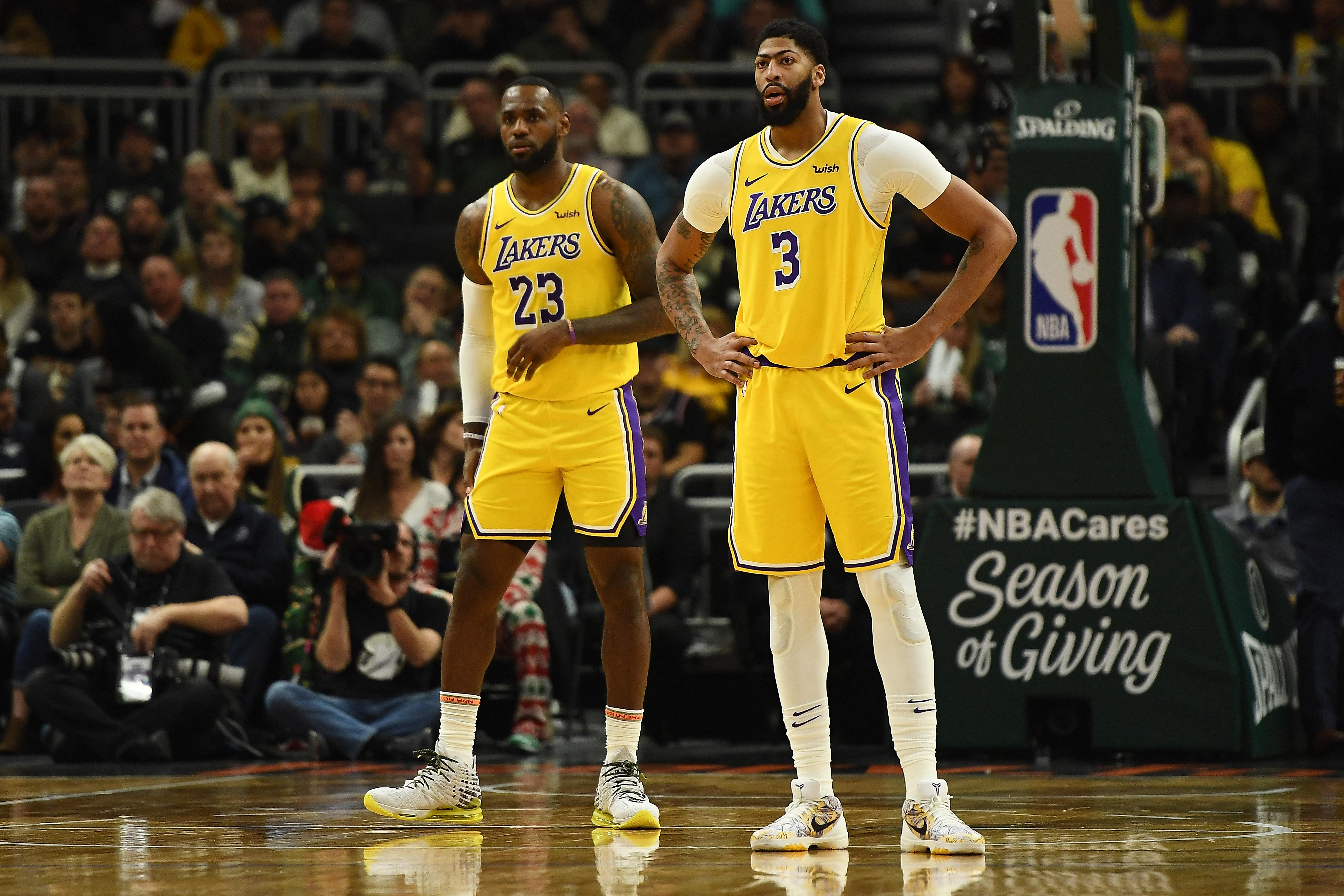 LeBron, Anthony Davis questionable for Lakers-Clippers game