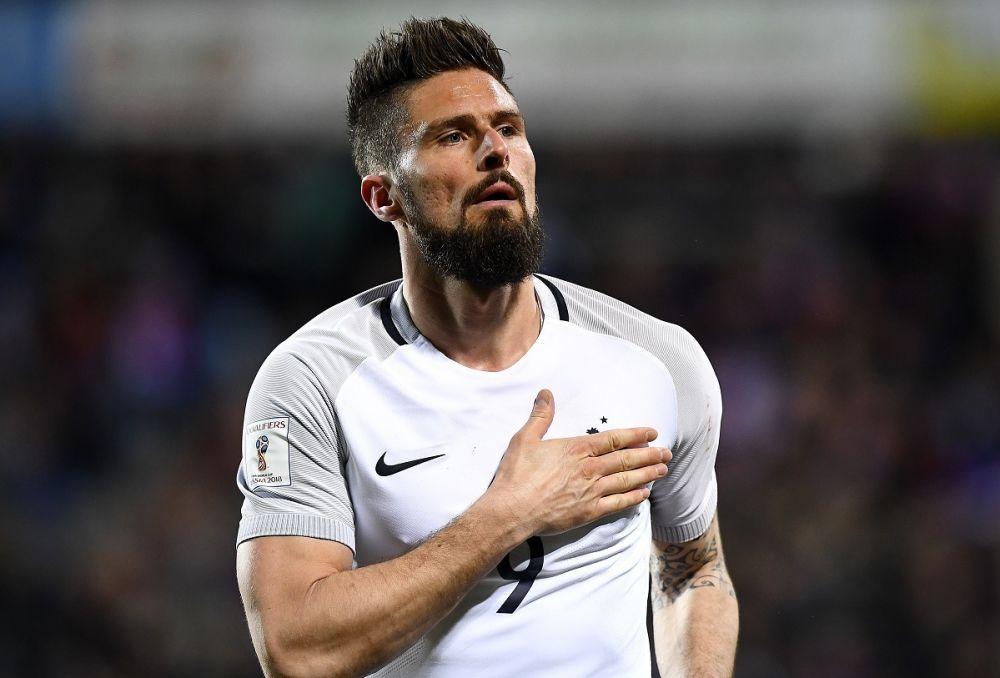 """Luxembourg-France: les critiques, Giroud """"s'y fait"""" (et Deschamps a aimé sa réaction)"""