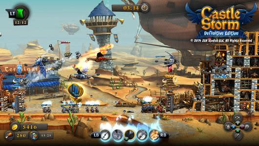 Zen Studios bringing KickBeat and CastleStorm to next-gen, Pinball FX2 to Xbox One