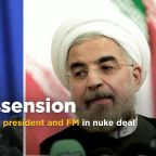 Iran supreme leader critical of Foreign Minister in nuclear deal