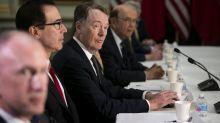 美國總統川普表示對華關稅將持續到中國遵守協議