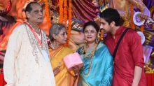 In Pics: Jaya, Varun Dhawan, Ayan Mukerji Bond During Durga Puja