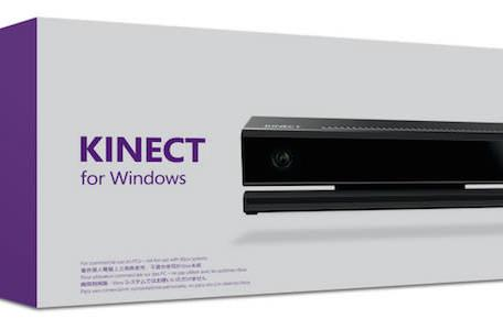 Kinect for Windows can track individual finger movements