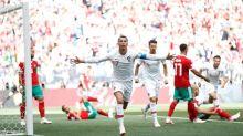 Portugal é pressionado por Marrocos, mas vence com gol de CR7
