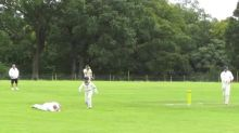 Deputy Head Shows He's Still Got Skills With Superb Catch During School Cricket Match
