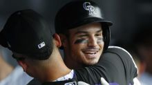 Rockies fans didn't get to see Nolan Arenado's incredible three-homer game