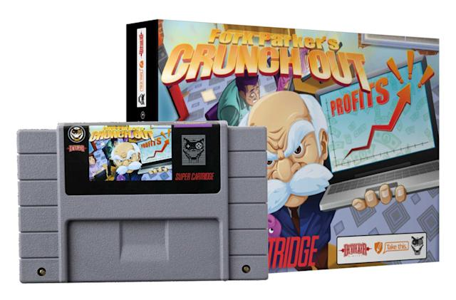 'Fork Parker's Crunch Out' is an SNES game made for charity