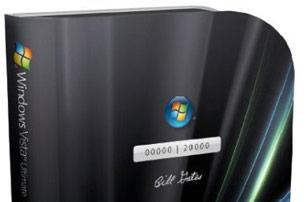 Microsoft Windows Vista Ultimate Limited Numbered Signature Edition (seriously)