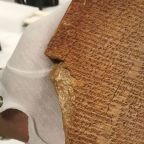 US seizes ancient 'looted' Gilgamesh tablet and could return it to Iraq