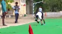 Man Becomes Fastest Quadrupedal Runner