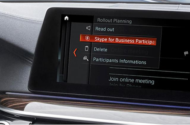BMW drivers can't escape work thanks to in-car Skype access
