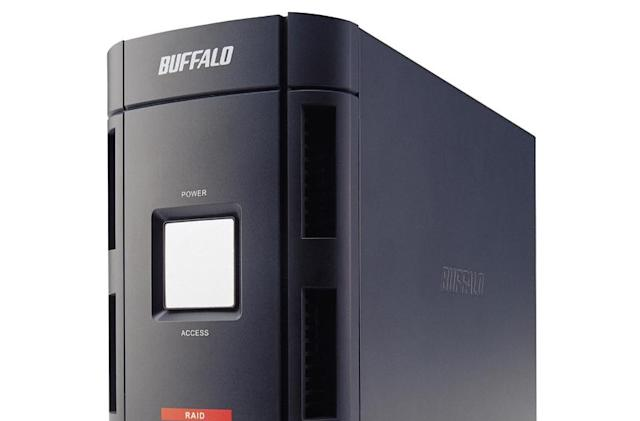 Buffalo DriveStation Duo stores files, can't grate cheese