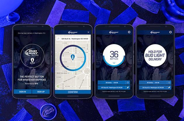 Bud Light delivery app keeps beer flowing in Washington, DC