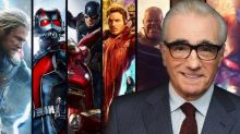 Martin Scorsese compares Marvel films to theme parks