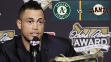 A's waste no time trolling Giants after Giancarlo Stanton trade rejection