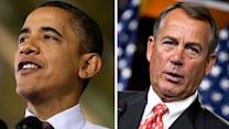 Obama, Boehner publicly hold ground in negotiations