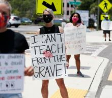 Over Gov. Ron DeSantis' objections, Florida school districts are imposing mask mandates
