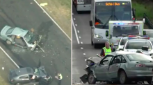 Girl, 7, dies in horrific Victorian crash that injured six others