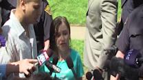 RAW: Amanda Berry's sister Beth gives statement to media
