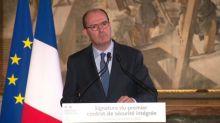 """Covid-19: en visite à Toulouse, Jean Castex met en garde contre """"la menace de sécurité sanitaire"""""""