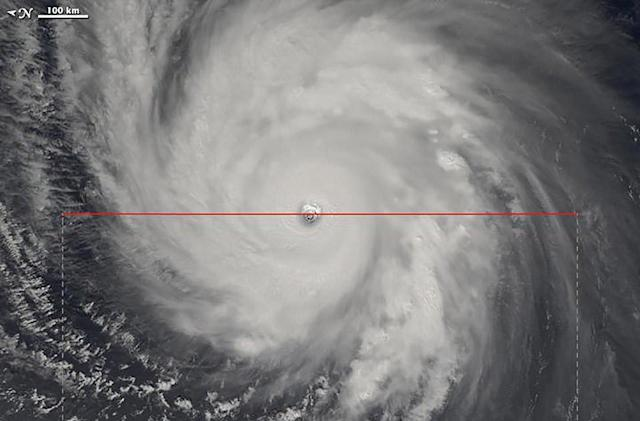 The Big Picture: NASA images typhoon eye in stunning detail