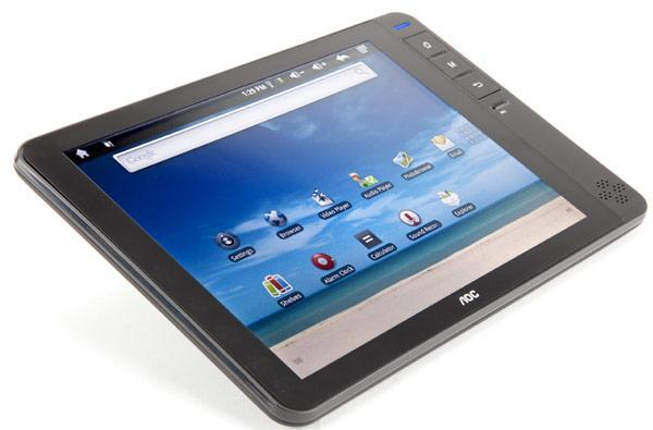 AOC's 8-inch Breeze Android 2.1 tablet goes for broke, sells for $200