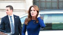 Meghan Markle und Herzogin Kate zeigen sich bei zwei verschiedenen Events in Marineblau