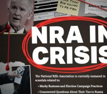 'NRA in crisis' ad campaign launched ahead of gun group's annual convention