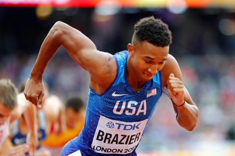 Athletics-World champion Brazier on hunt for 'redemption' at U.S. Olympic trials
