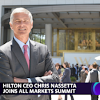 HIlton CEO Chris Nassetta on why leisure travel is coming back