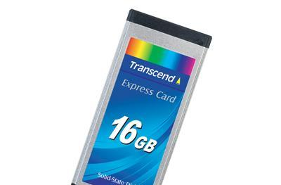 Transcend intros 16GB SSD for ExpressCard slots
