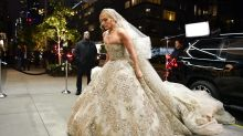 Jennifer Lopez stuns in extravagant wedding dress in NYC: Photos!
