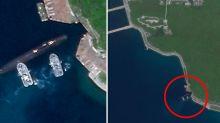 South China Sea: Secret underground navy base revealed in satellite images