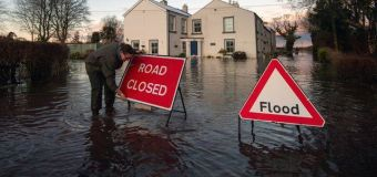 5 'danger to life' warnings in place as storm hits