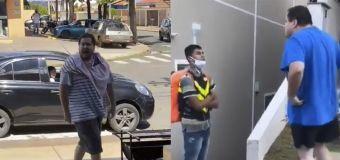 Homem que atacou motoboy comete nova injúria racial