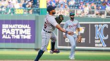 Home runs doom Detroit Tigers in 9-8 loss to Kansas City Royals