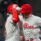Phillies offense breaks out in 12-2 rout of Morton, Braves