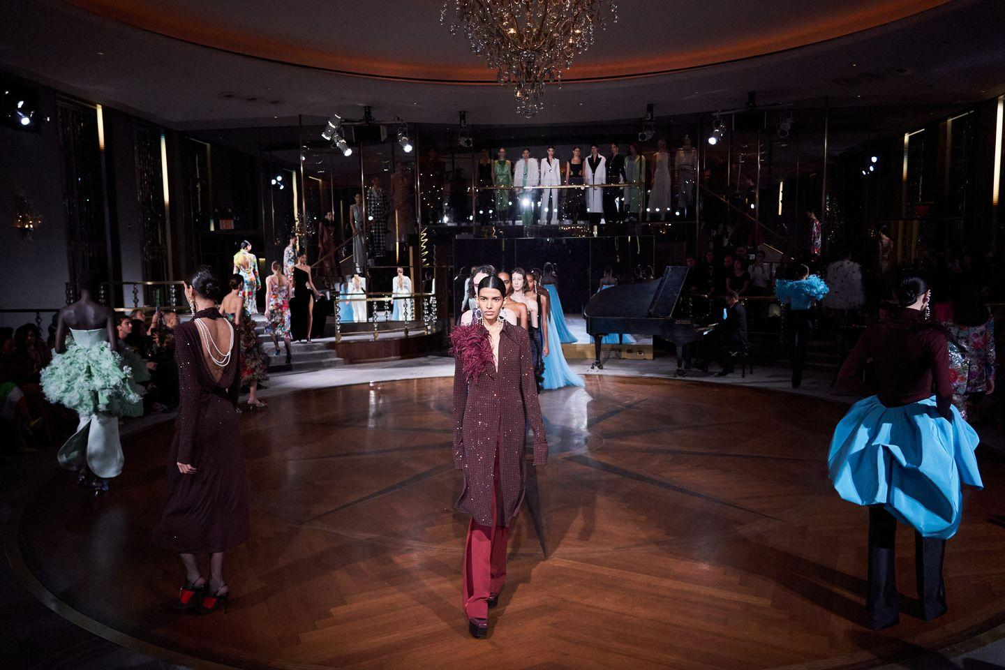 The Best Set Designs From New York Fashion Week