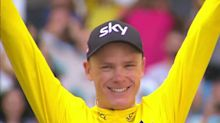 Chris Froome wins fourth Tour de France