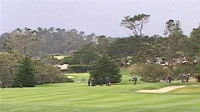 Pebble Beach Invitational Affected By Rainy Weather
